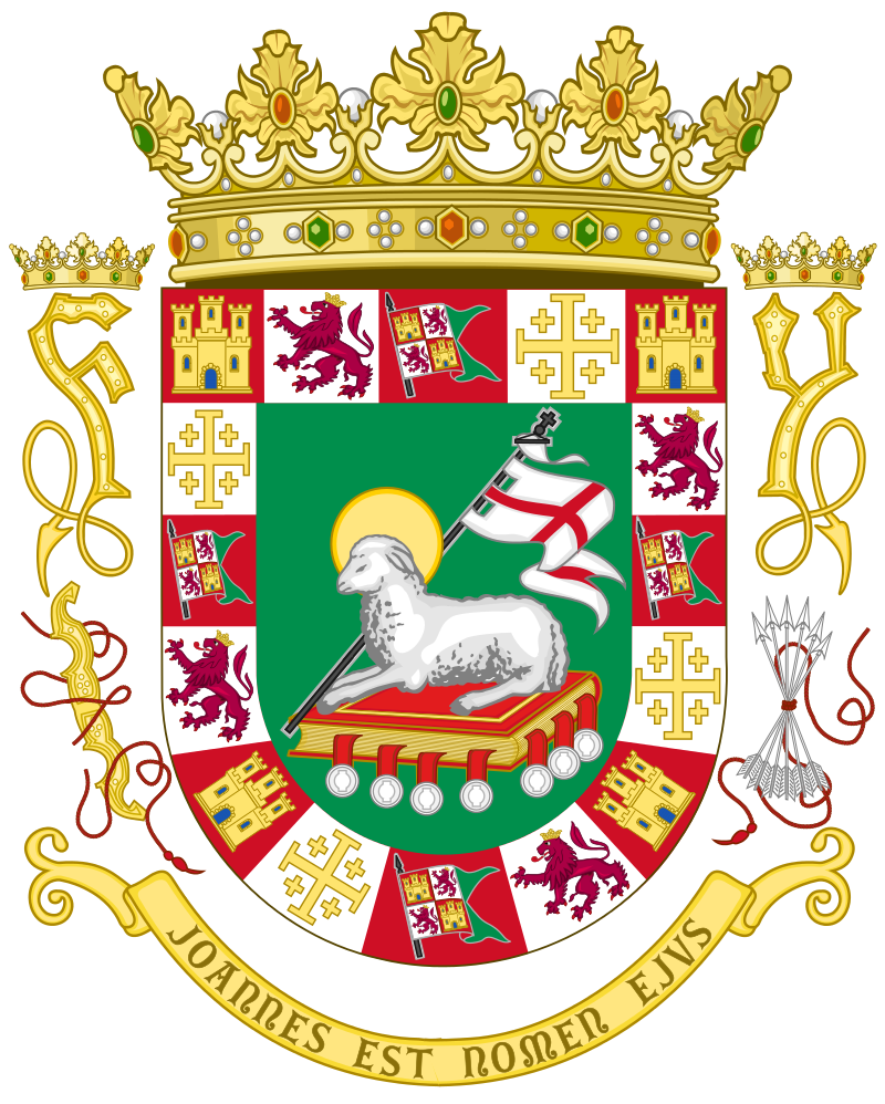 Grilling clipart food puerto rico. Coat of arms the