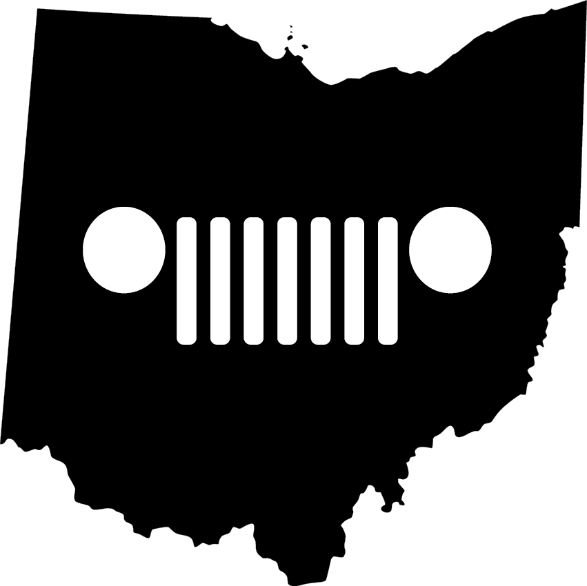 Grilling clipart grille. Ohio tj grill decal