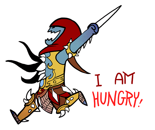 Smite i am chibi. Grilling clipart hungry