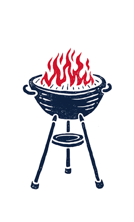 Miller lite grill original. Grilling clipart memorial day