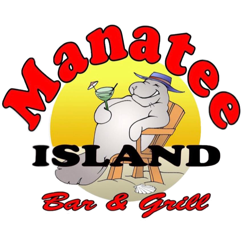 Island bar grill website. Manatee clipart happy