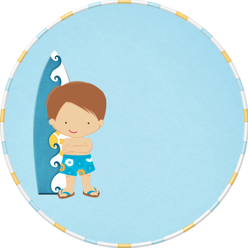 Surfing clipart baby beach.  png scrapbook paper