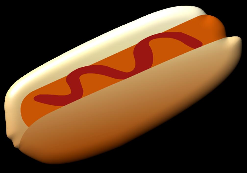 Hotdog clipart simple food. Ch b graphics picnic