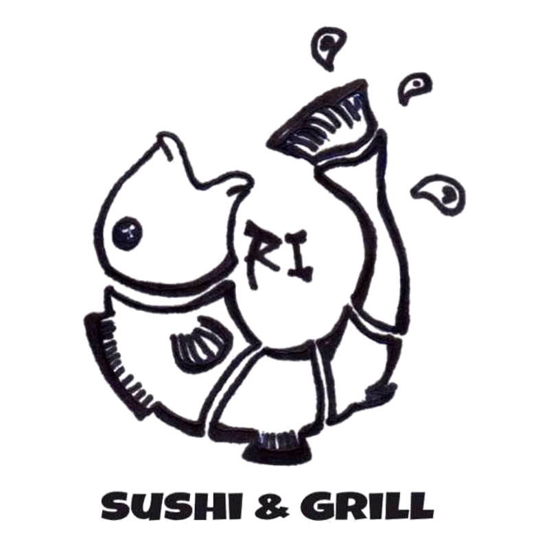 Uri sushi grill delivery. Grilling clipart yakitori