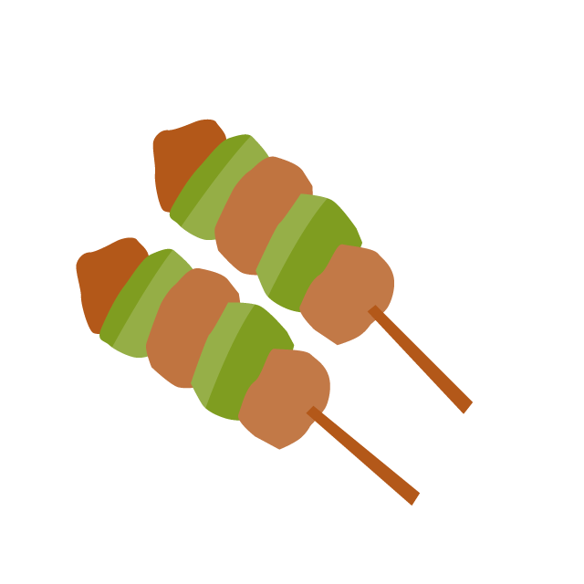 Grilling clipart yakitori. Grilled chicken clip art