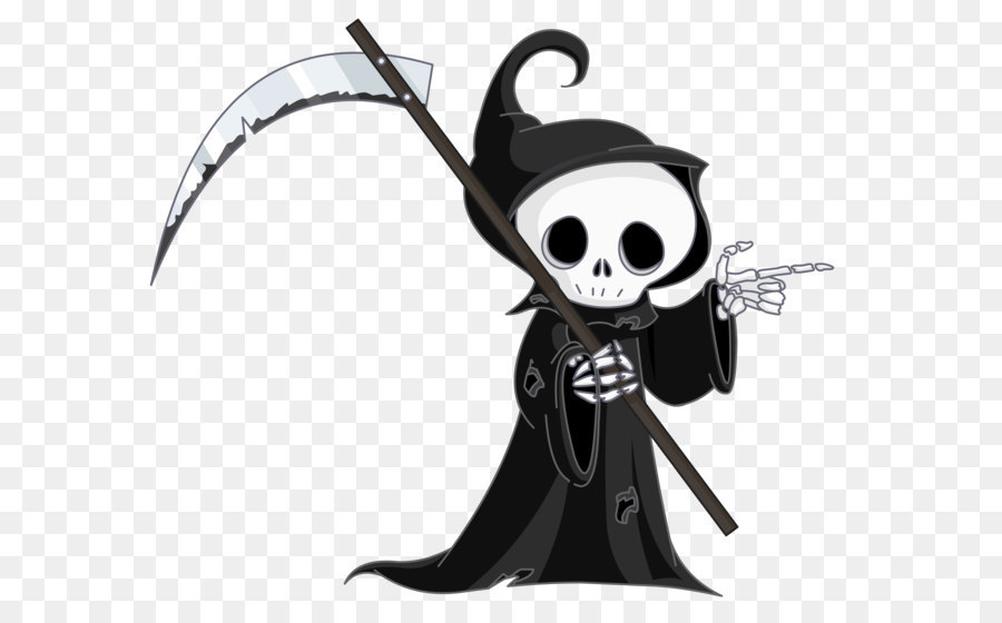 Grim reaper clipart. Death clip art png