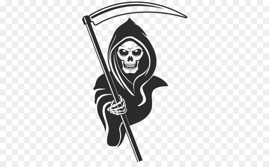 Grim reaper clipart. Symbols of death stock