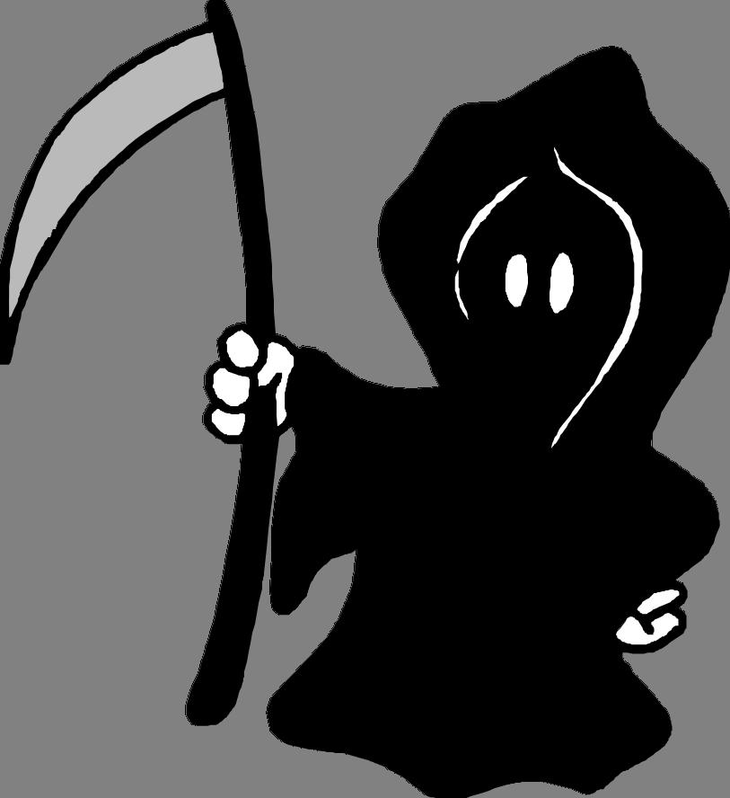 Grim reaper clipart birth and death, Grim reaper birth and ...