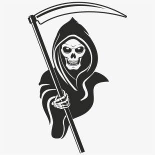 Grim reaper clipart death. Easy