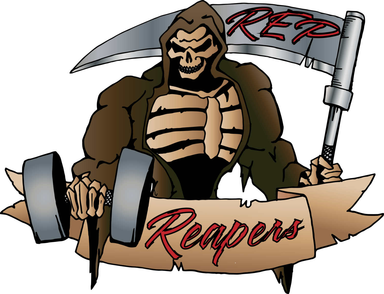 Rep reapers . Weight clipart lack exercise