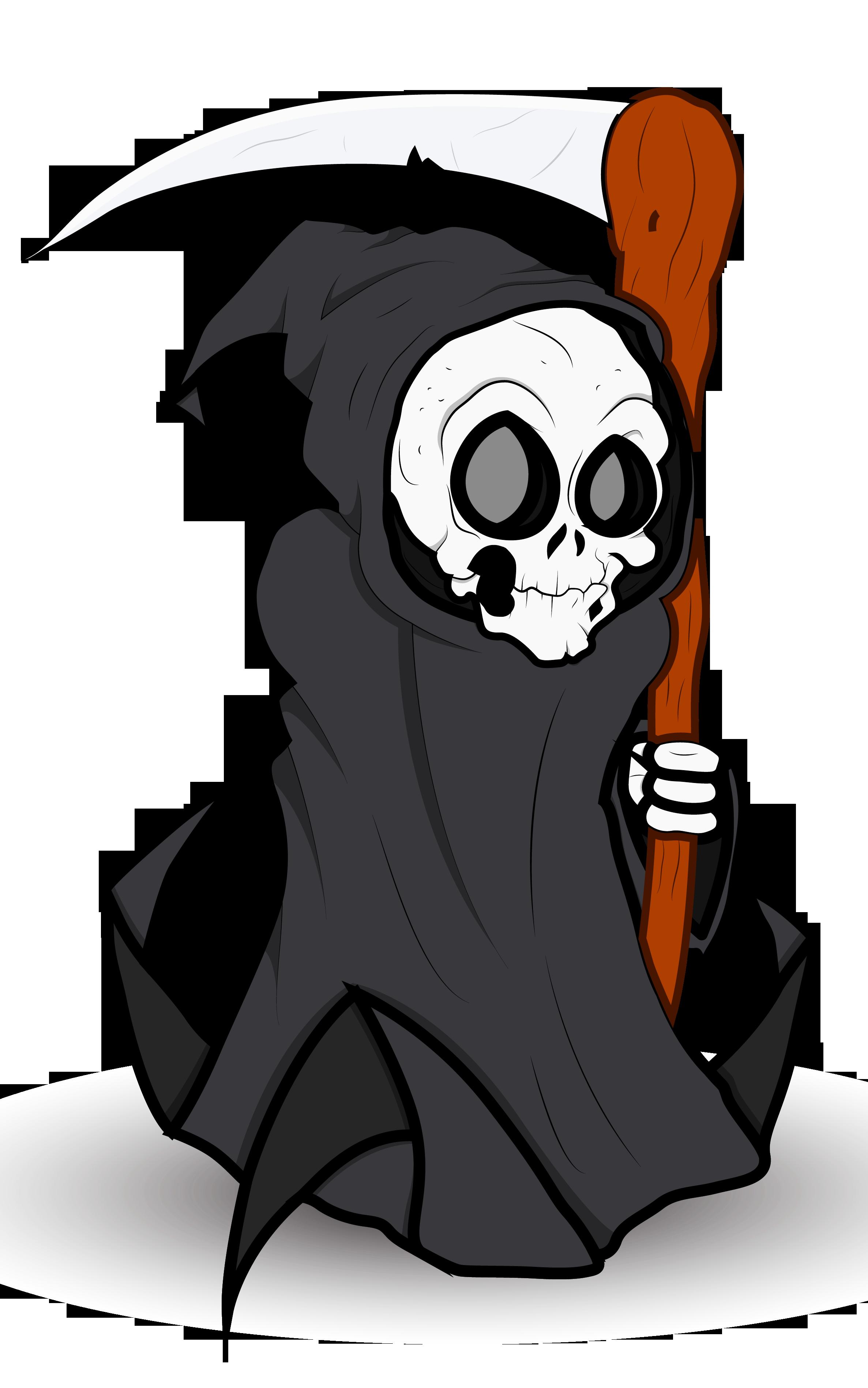 Grim reaper grip free. Halloween clipart disco