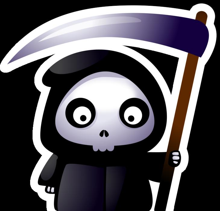 Grim reaper clipart halloween zombie, Grim reaper ...
