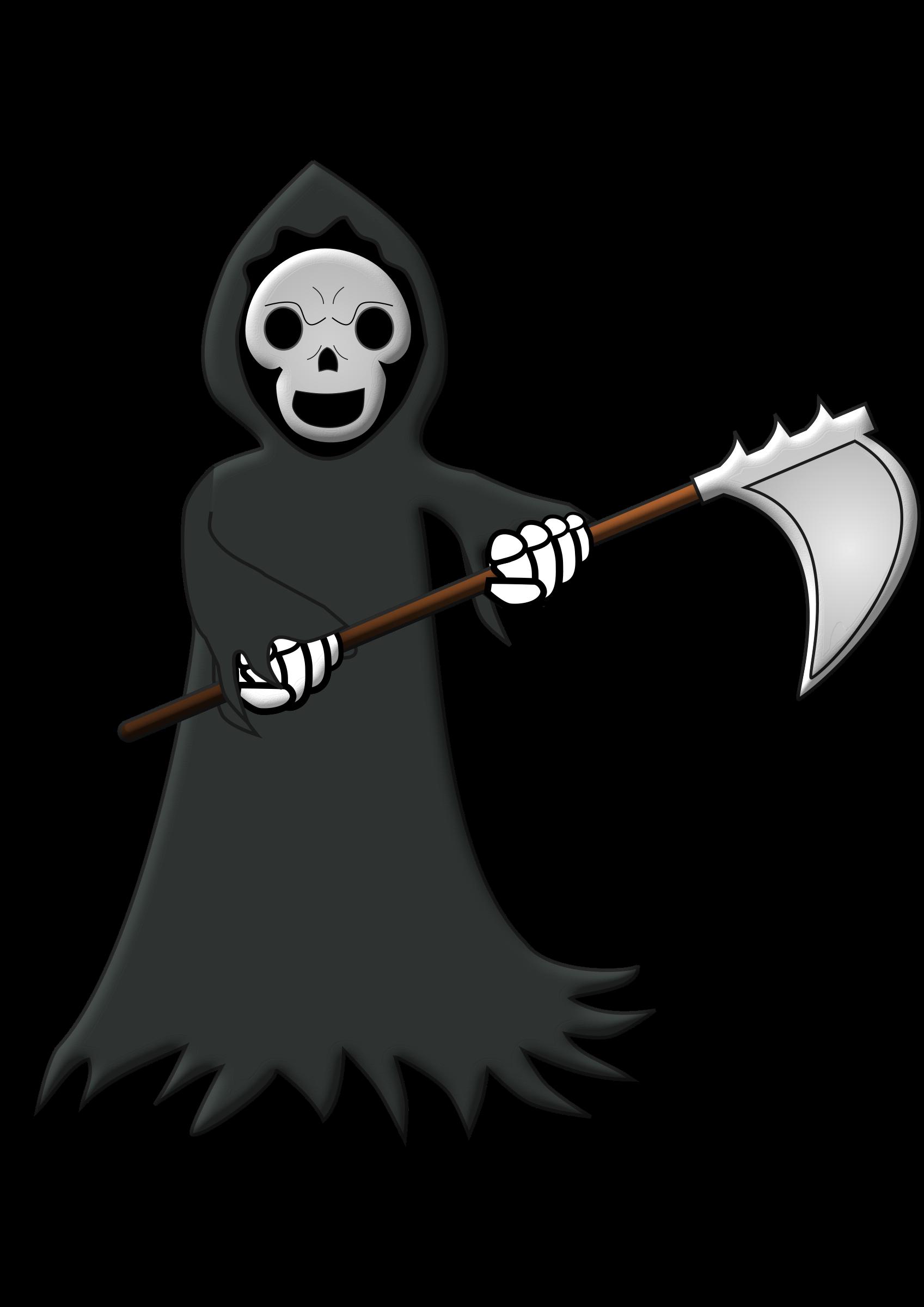 Grim reaper clipart killer, Grim reaper killer Transparent ...