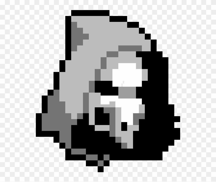 Overwatch minecraft skin fortnite. Grim reaper clipart pixel art