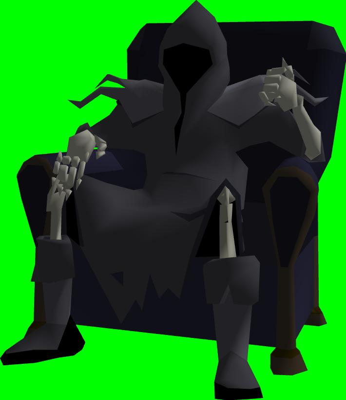 Image png runescape wiki. Grim reaper clipart pixel art