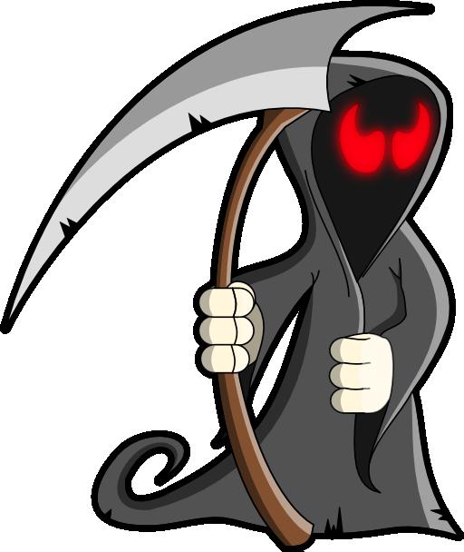 Grim reaper sickle