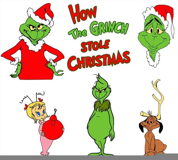 Grinch clipart. Dr seuss free images