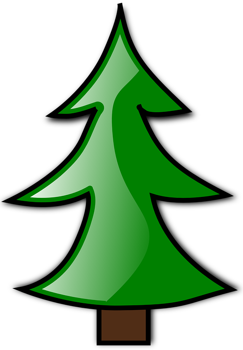Schedule clipart animated. Cartoon pine trees shop