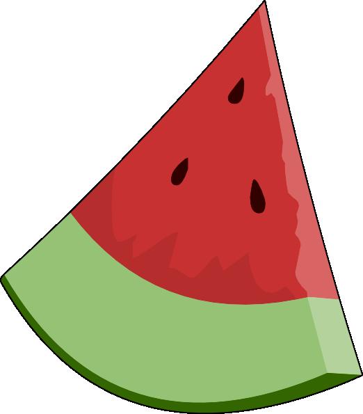Seedless slice panda free. Watermelon clipart whole