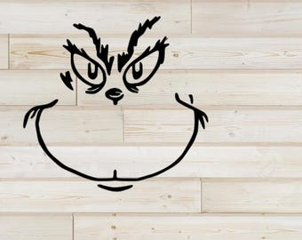 Etsy . Grinch clipart file