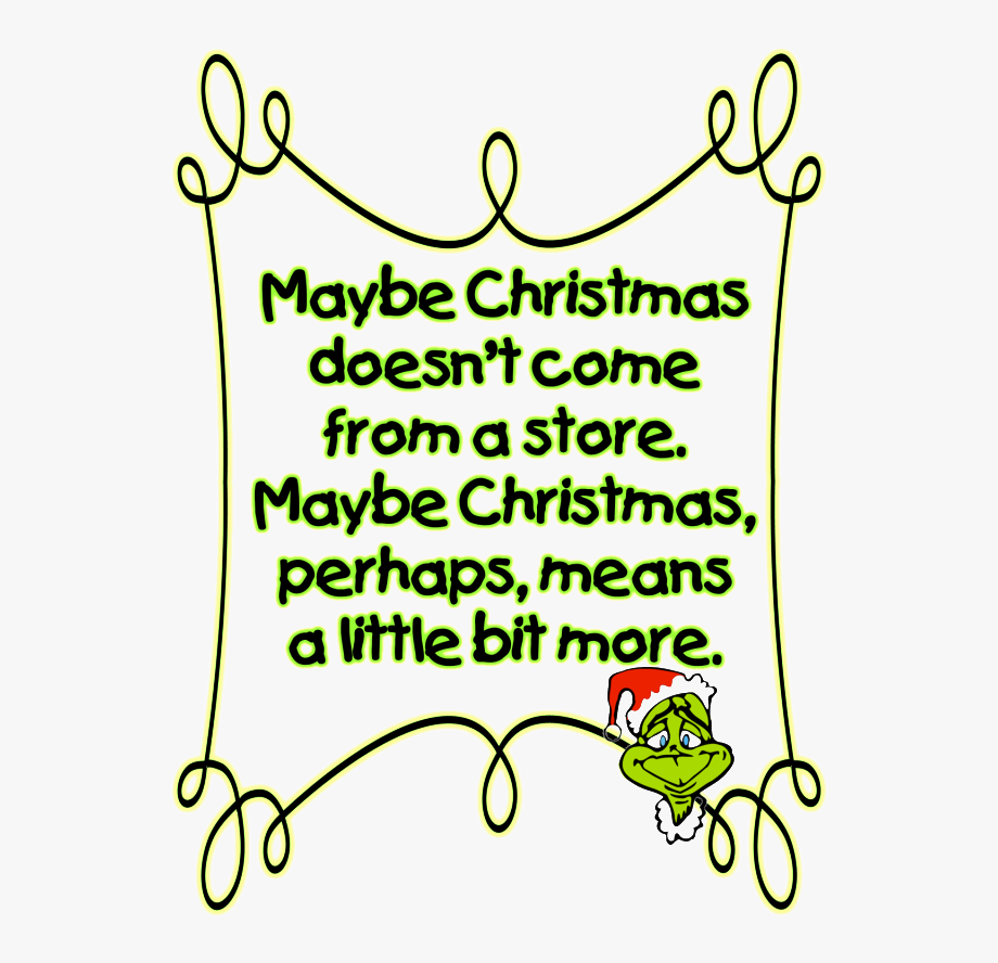 Grinch clipart frame. Christmas gifts the