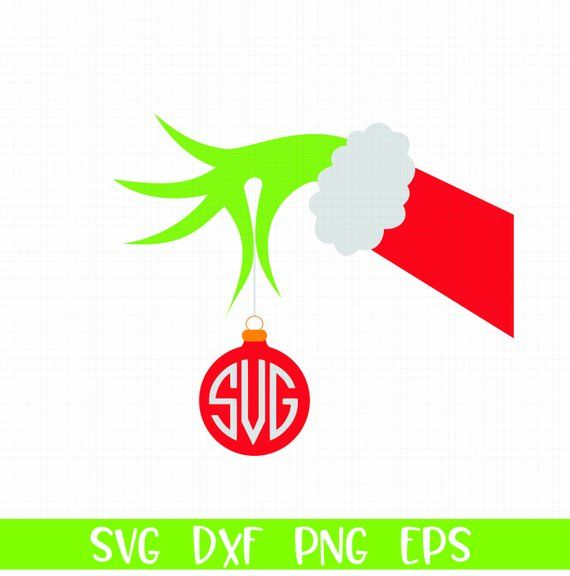 Grinch clipart monogram. Pin on cameo