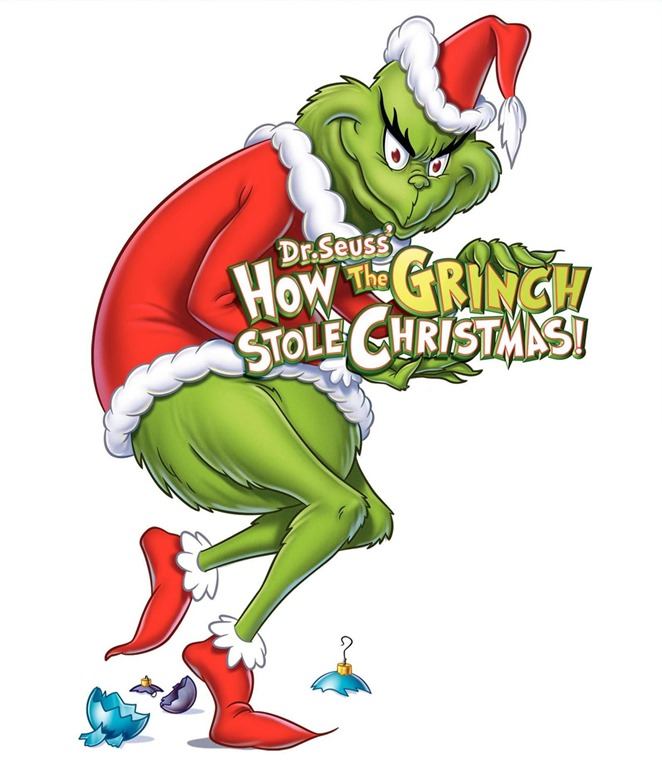 Grinch clipart sneaky. Presence not presents larry