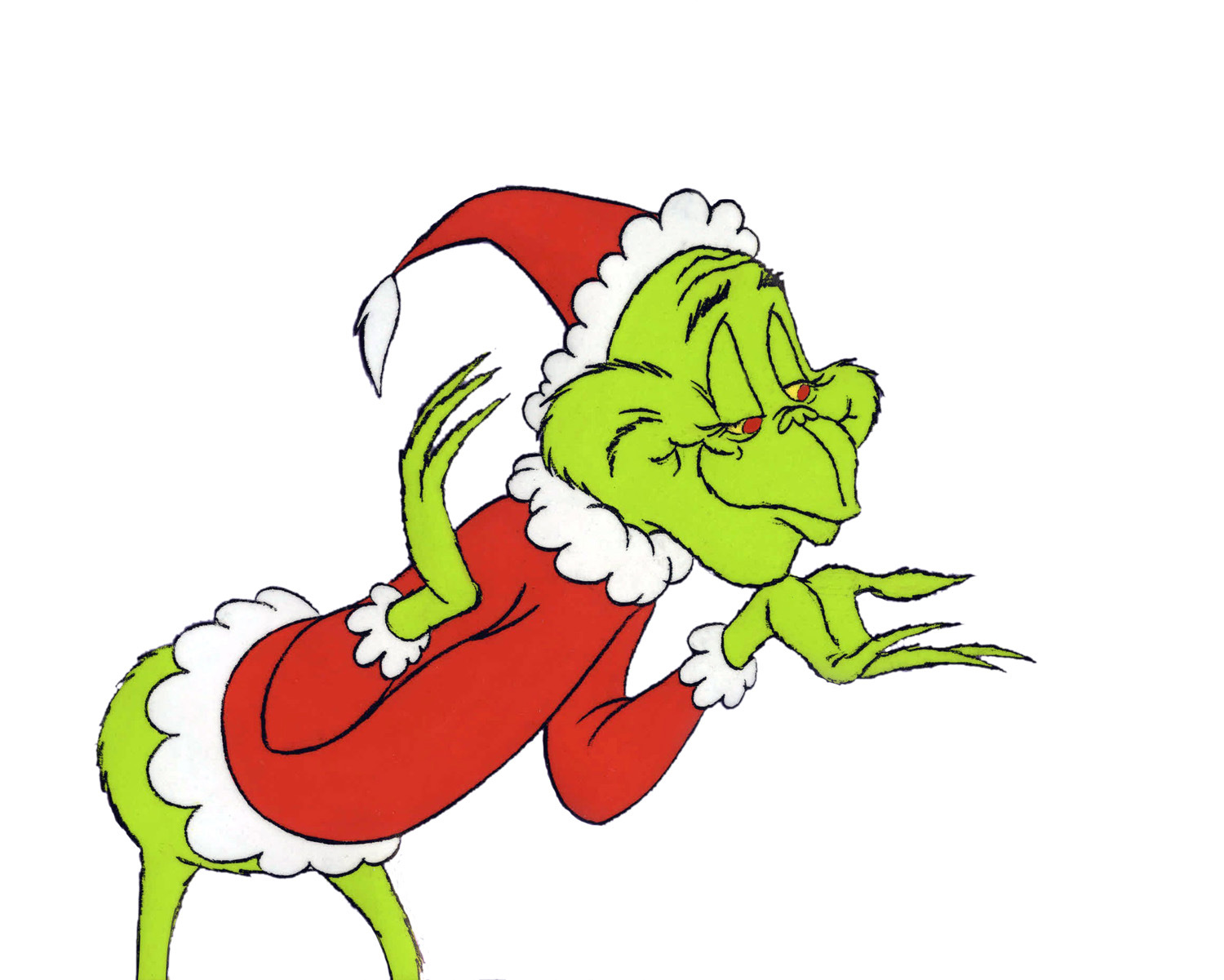 Free download clip art. Grinch clipart sneaky