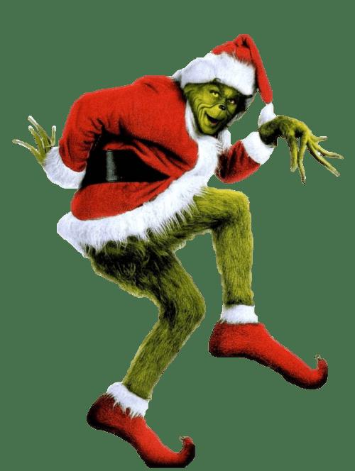 Christmas claus transparent png. Santa clipart grinch