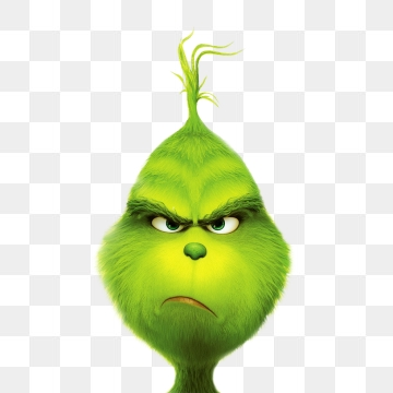 Png psd and with. Grinch clipart vector