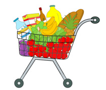 Free clip art pictures. Buy clipart grocery shopping