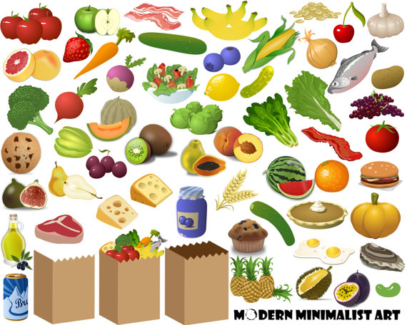 pngs food shopping. Grocery clipart
