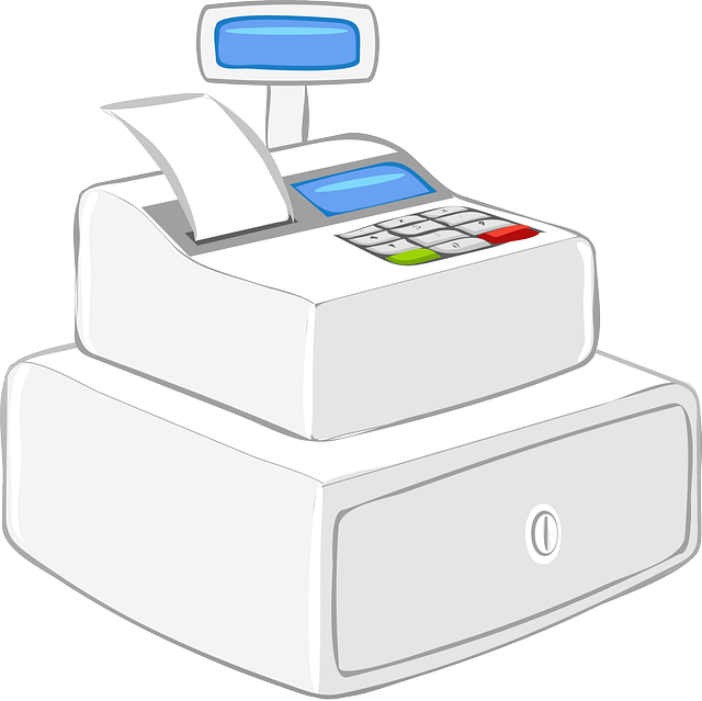 Grocery clipart cash register. Retail point of sale