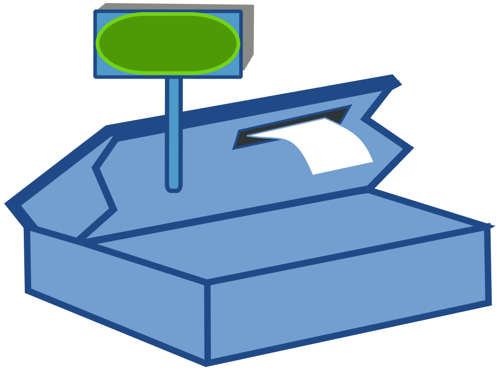 Grocery clipart cash register.  collection of back