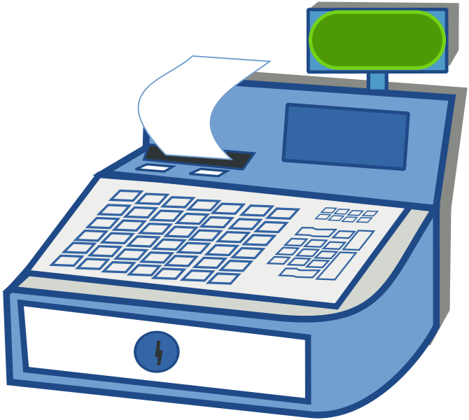 Grocery clipart cash register. Refreshher generic christianity isnt