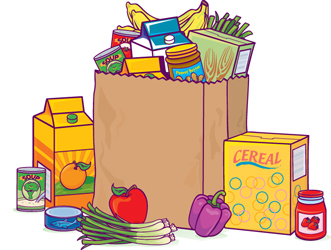 Get assistance from the. Grocery clipart food bank