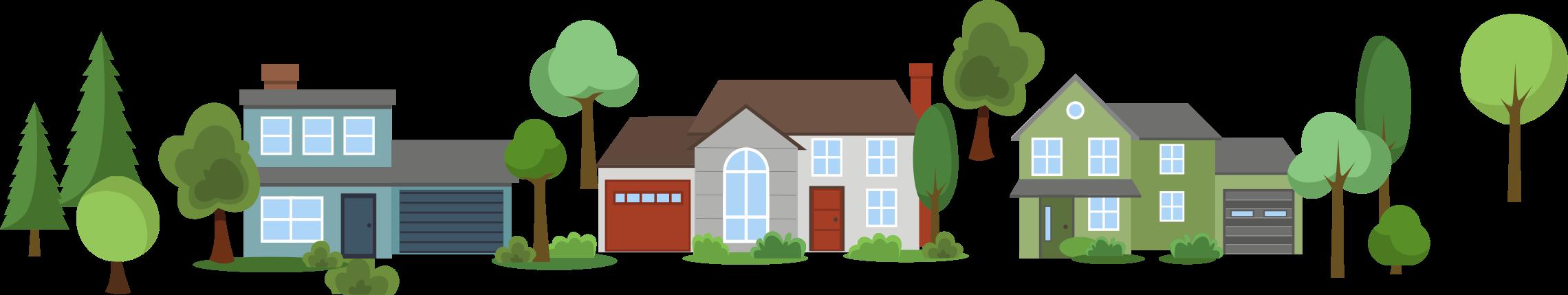 Elvehjem is a family. Neighborhood clipart housing estate