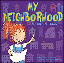 Amazon com my places. Neighbors clipart neighborhood kid