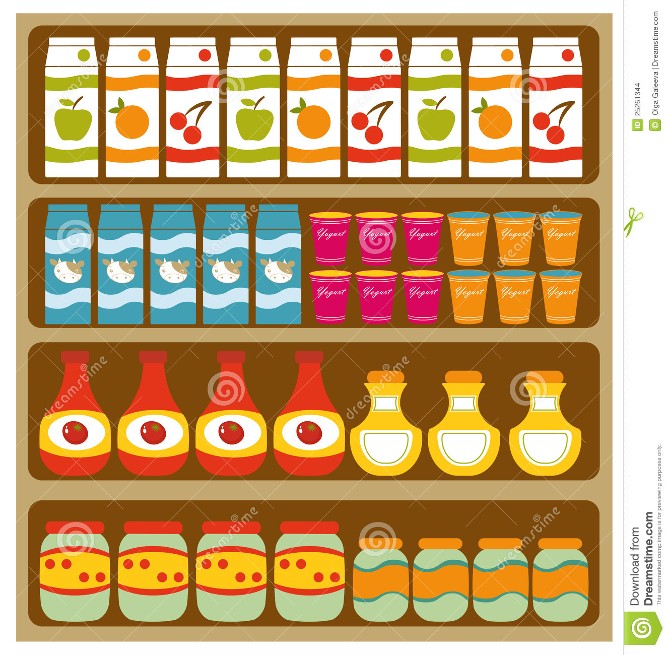 Grocery clipart stall. Groceries clip art free