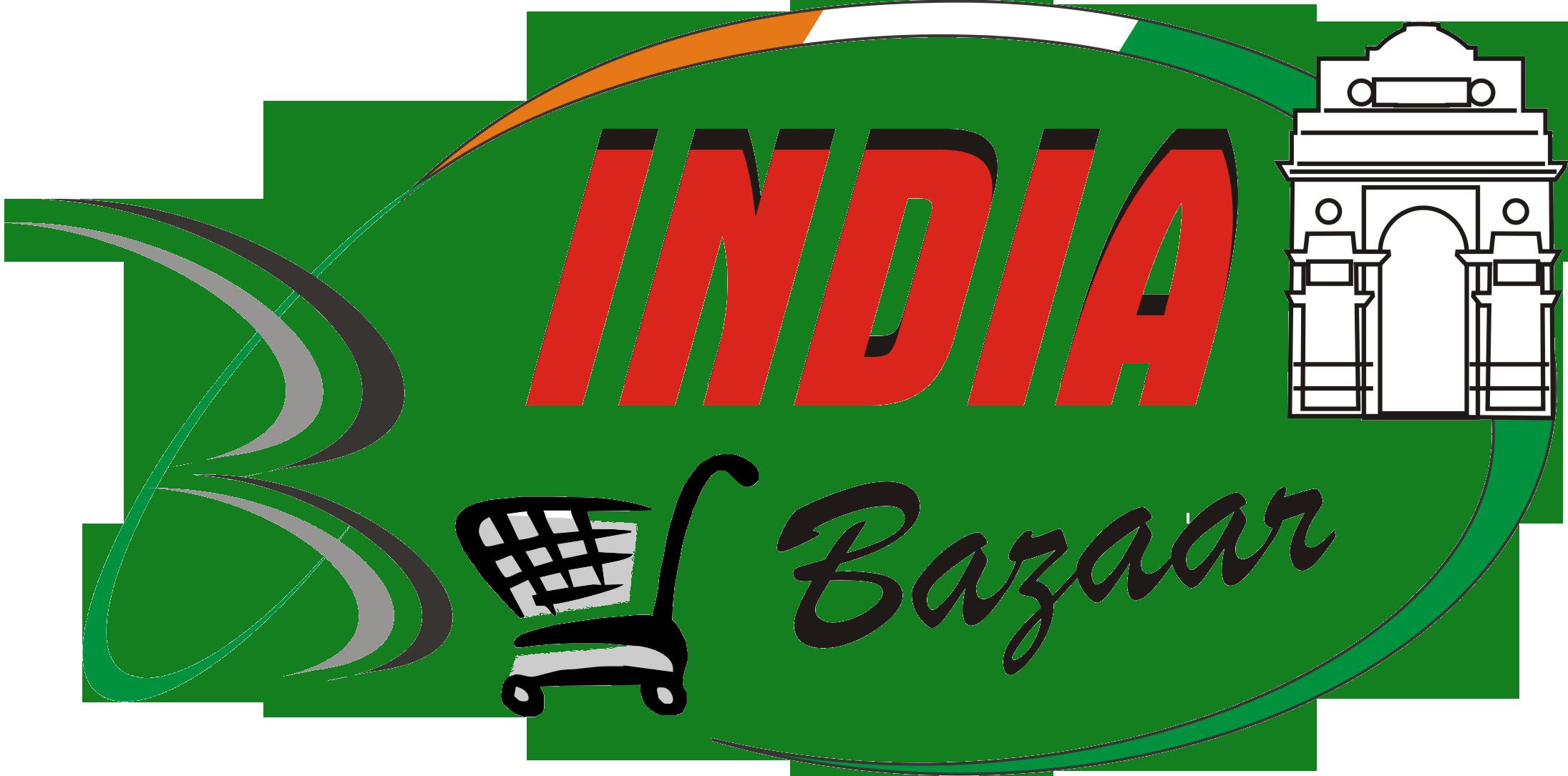 India bazaar . Grocery clipart supermart