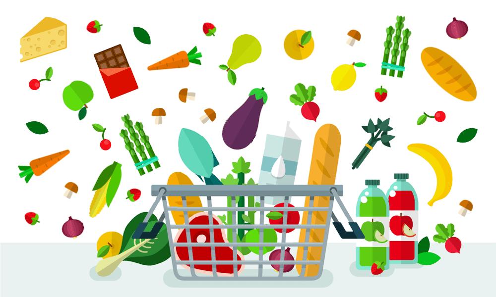 Grocery clipart village shop. Smarter ubc food services