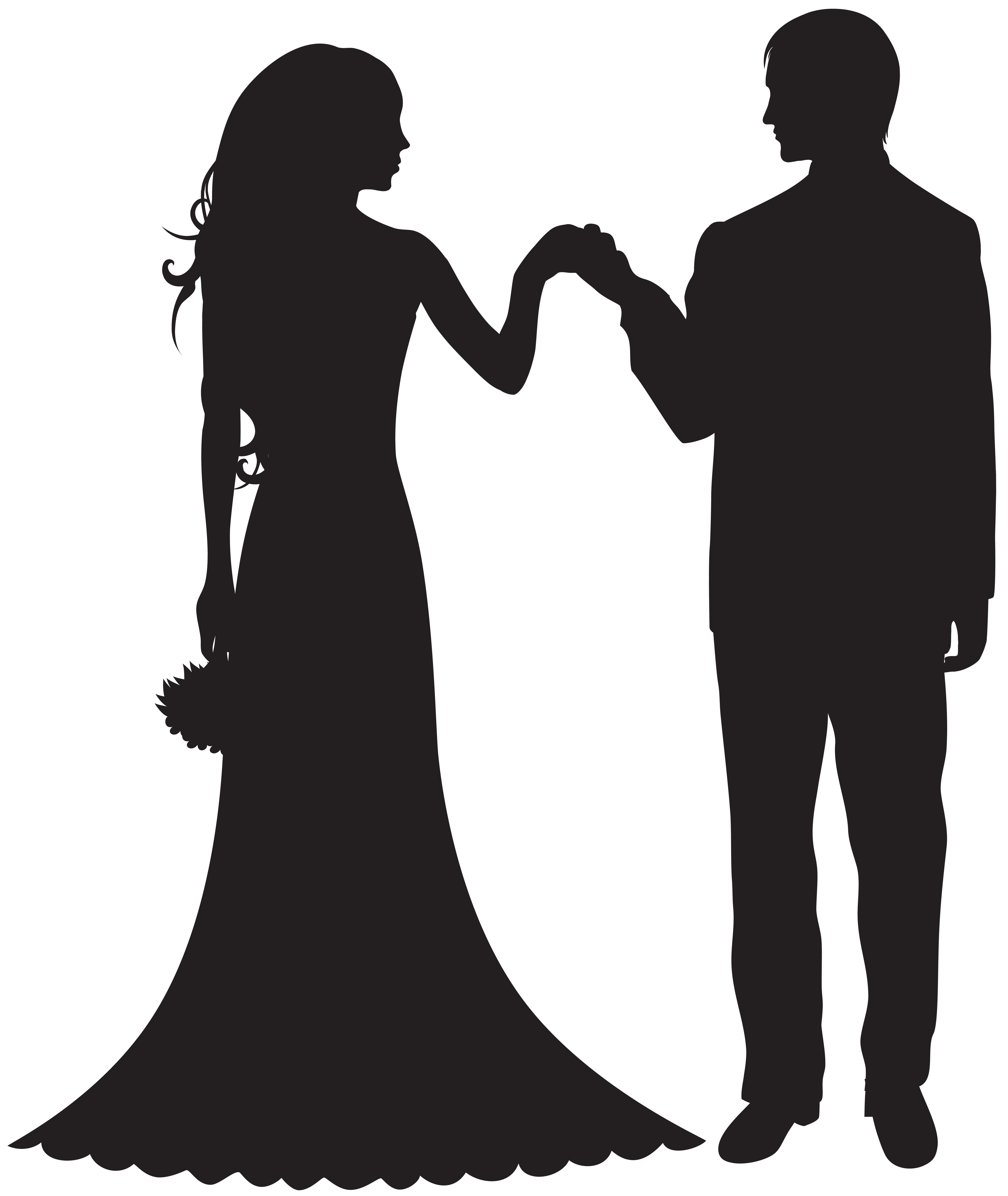Groom clipart. Bride and png best