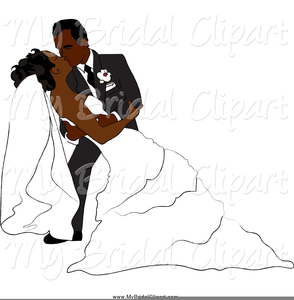 Free bride and images. Groom clipart african american