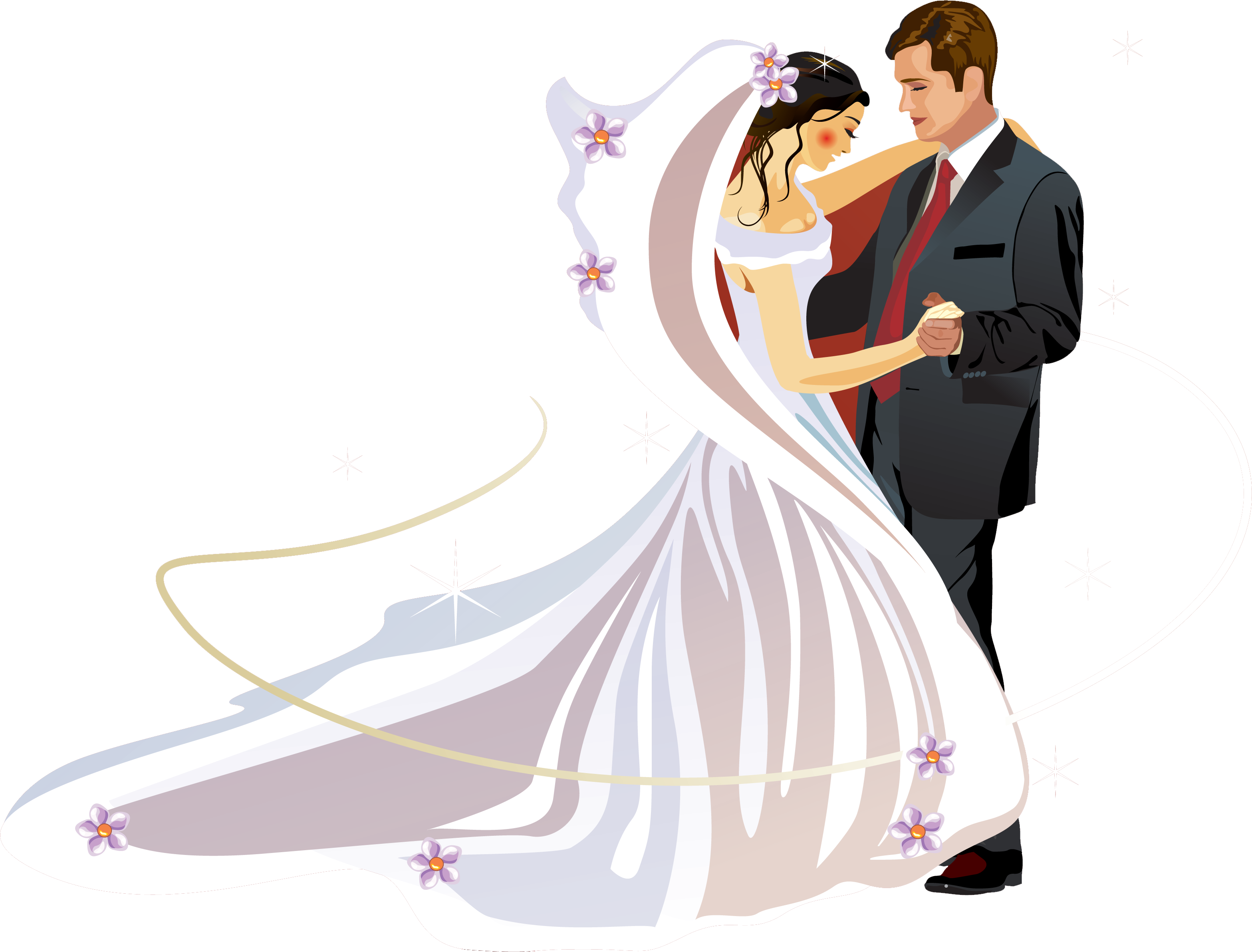 Wedding invitation bridegroom clip. Marriage clipart married couple