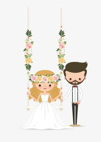 Groom clipart flower. Bride and png