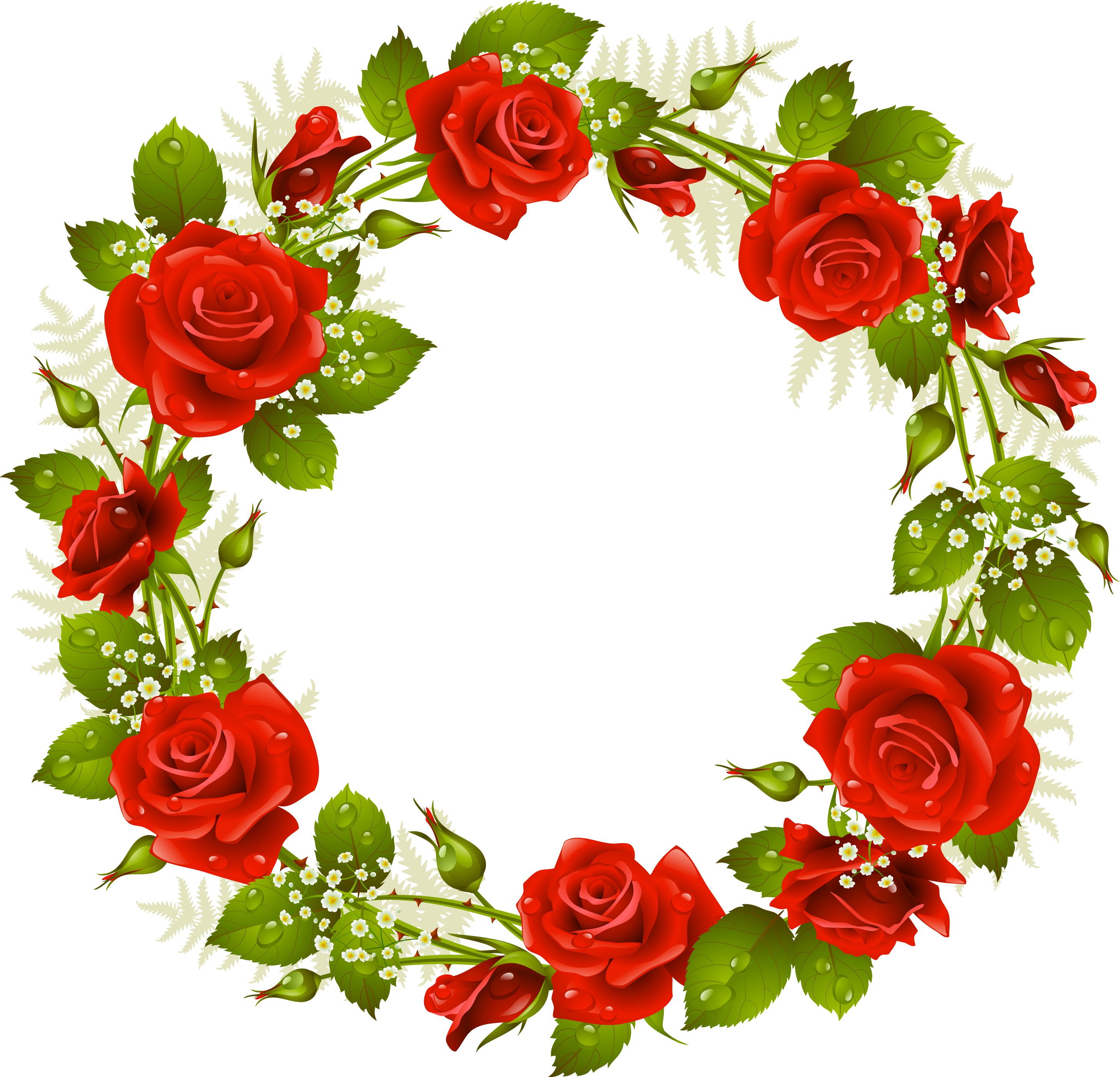Pin by marina on. Strawberries clipart wreath