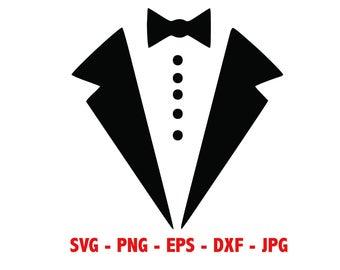 Groom clipart full tuxedo. Svg etsy