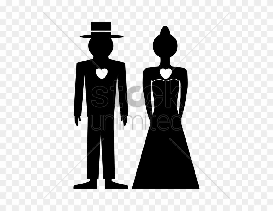 Silhouette bridegroom clip art. Groom clipart male model