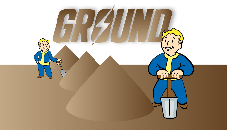 Ground clipart brown ground. At fallout nexus mods