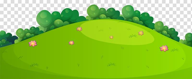 Field leaf design meadow. Hill clipart green meadows